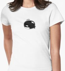 Little Lost Orca Women's Fitted T-Shirt