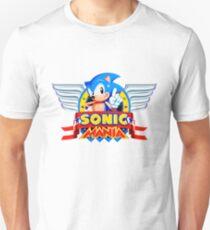 Sonic Mania! (Intro Logo Design) T-Shirt
