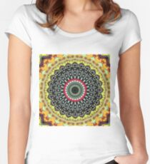 Maka ( Earth ) Women's Fitted Scoop T-Shirt