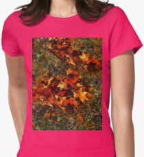Autumn Afterthoughts Womens Fitted T-Shirt