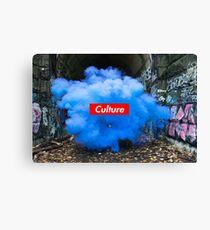 Culture Series: Blue Dust Canvas Print