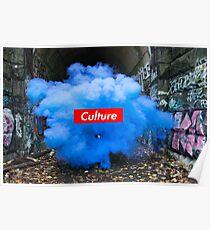 Culture Series: Blue Dust Poster