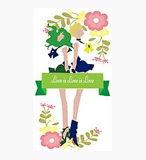 Love is Love is Love  Photographic Print