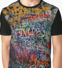 Graffiti Door Graphic T-Shirt