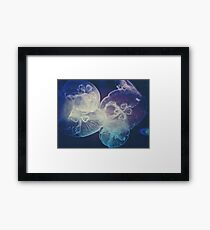 Jellyfish Storm Framed Print
