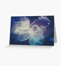 Jellyfish Storm Greeting Card