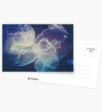 Jellyfish Storm Greeting Card