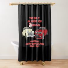 The End Of An Aussie Icon Shower Curtain