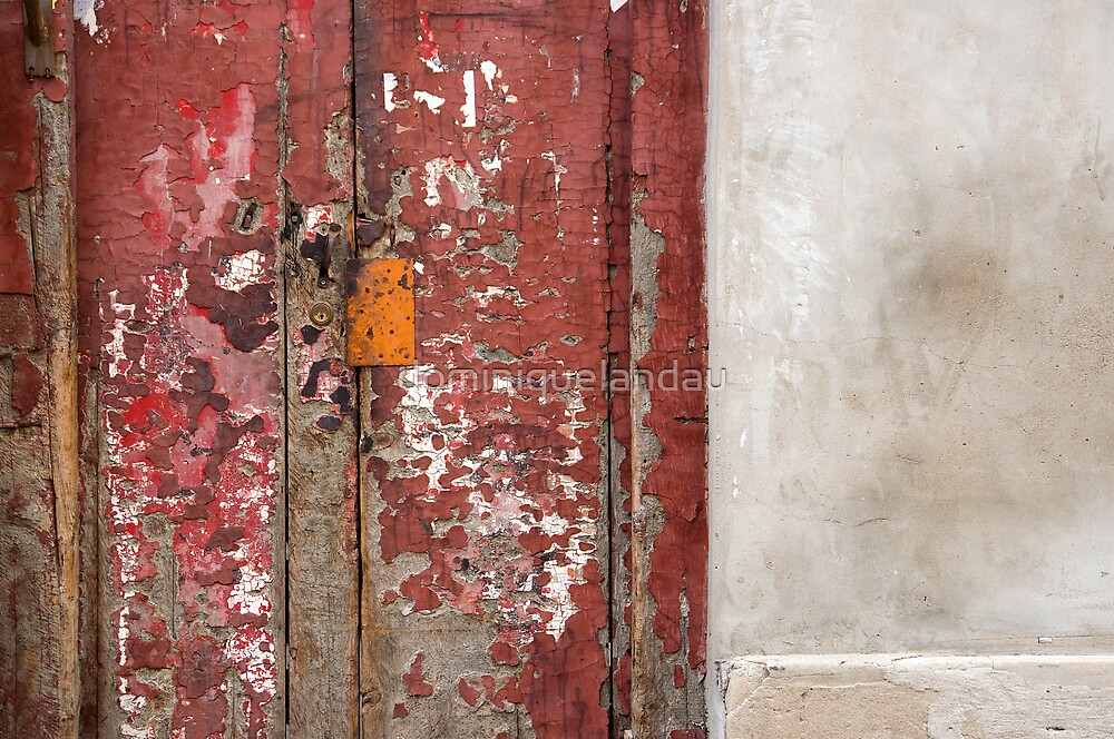 old red door by dominiquelandau