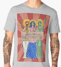 Nevertheless, She Persisted Men's Premium T-Shirt