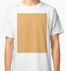 Solid Colour | Earth Yellow | Yellow Classic T-Shirt