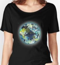 Paint Chip Earth Women's Relaxed Fit T-Shirt