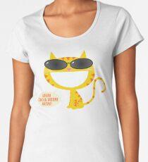 Meow Chicka Meow Meow Women's Premium T-Shirt