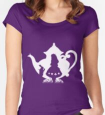 Alice in a Teapot Women's Fitted Scoop T-Shirt