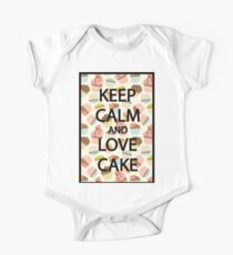 Keep Calm and Love Cake Kids Clothes