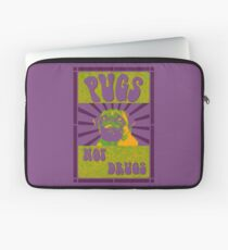 Pugs Not Drugs Laptop Sleeve