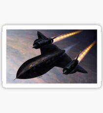 Lockheed SR 71 'Blackbird' Sticker