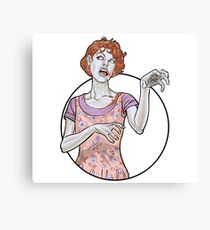 Molly The Zombie Canvas Print