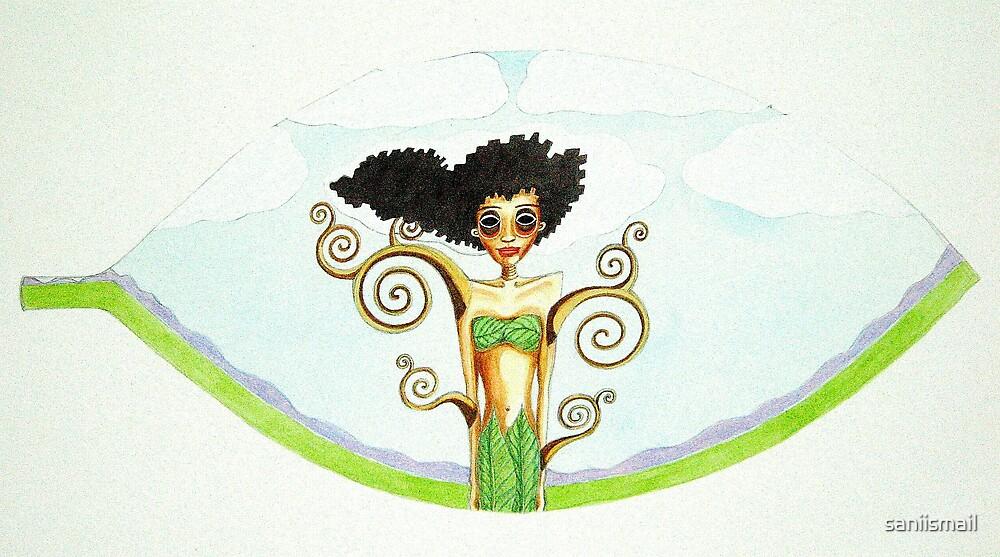 The Tree Girl by saniismail