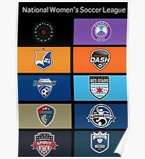 NWSL Teams Poster