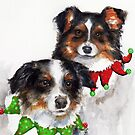 Monet and Dali Christmas by Sherry Cummings