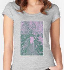 hazza plz Women's Fitted Scoop T-Shirt