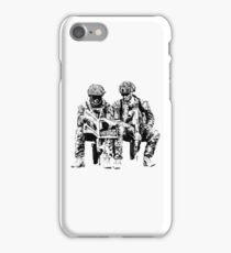 I shook the world Soldiers iPhone Case/Skin
