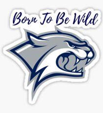University of New Hampshire - Born To Be Wild Sticker