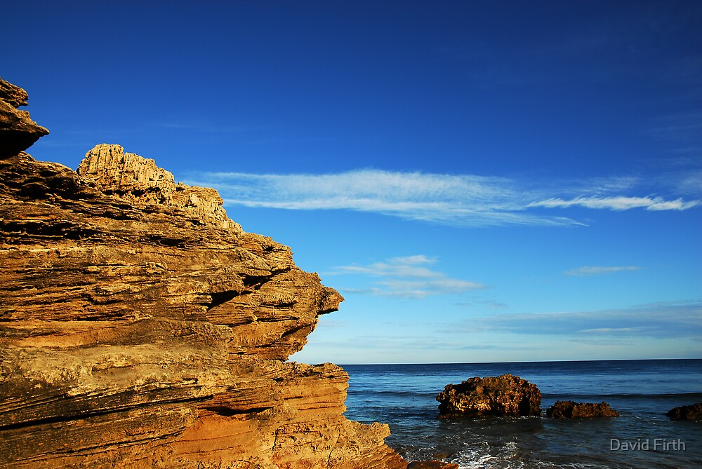 Southern Edge at Point Lonsdale I by David Firth