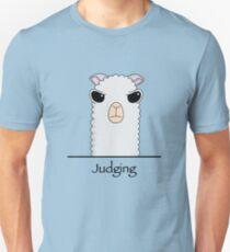 Judging Alpaca Unisex T-Shirt
