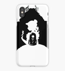 Beauty and the Beast Silhouette iPhone Case/Skin