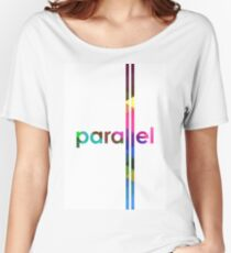 Parallel Lines Never Meet Women's Relaxed Fit T-Shirt