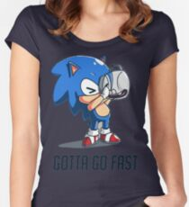 Gotta Go Fast Women's Fitted Scoop T-Shirt