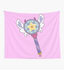 Star Butterfly's Wand (Season 3) Wall Tapestry