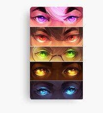 starry eyed: voltron Canvas Print