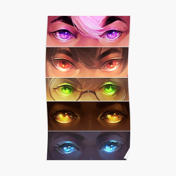 starry eyed: voltron Poster