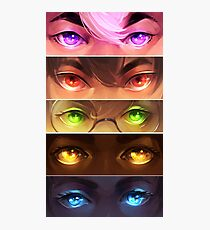 starry eyed: voltron Photographic Print