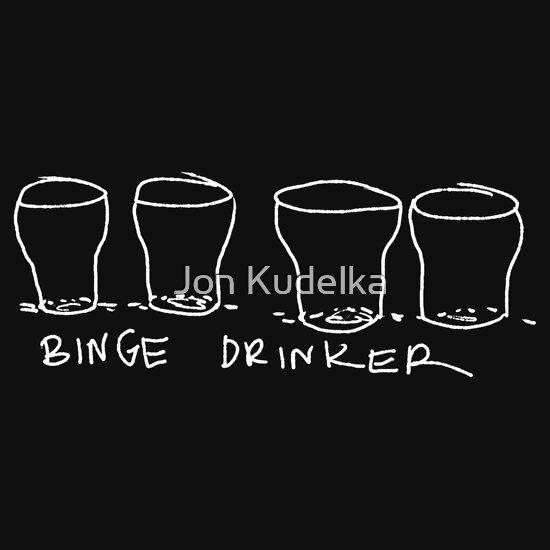 TShirtGifter presents: binge drinker