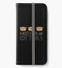 mother of otters iPhone Wallet/Case/Skin