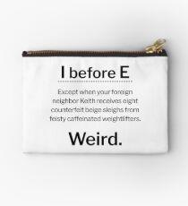 I before E, except... Studio Pouch
