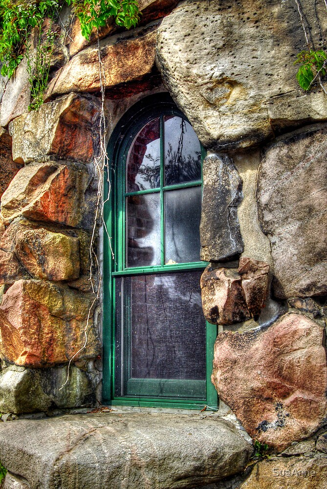 Boldt Castle Window by SueAnne