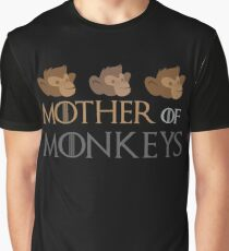 Mother of monkeys Graphic T-Shirt