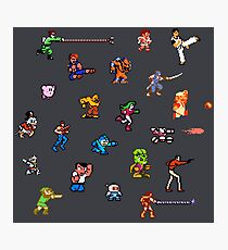 Champions of the NES! Photographic Print