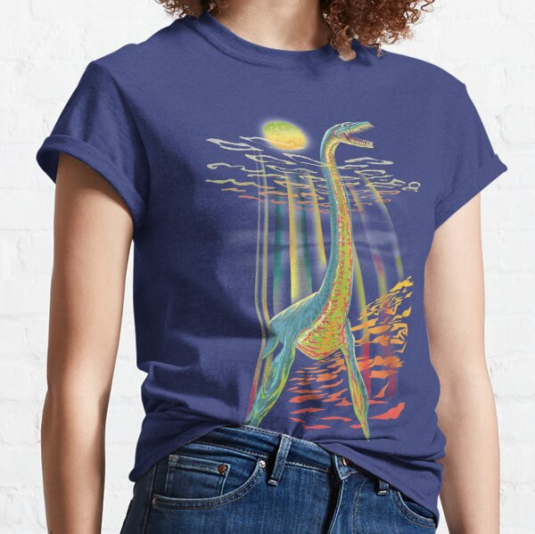 Loch Ness Plesiosaur  Classic T-Shirt