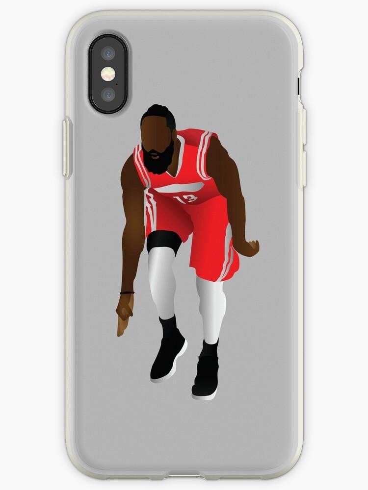 buy online 964a5 790fe 'JAMES HARDEN ' iPhone Case by Mrbadapplez