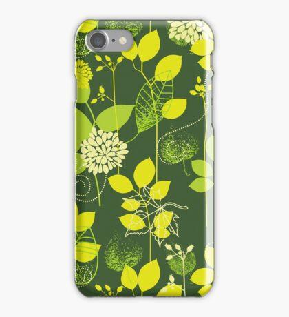 Foliage Lemon & Lime [iPhone / iPod Case and Print] iPhone Case/Skin