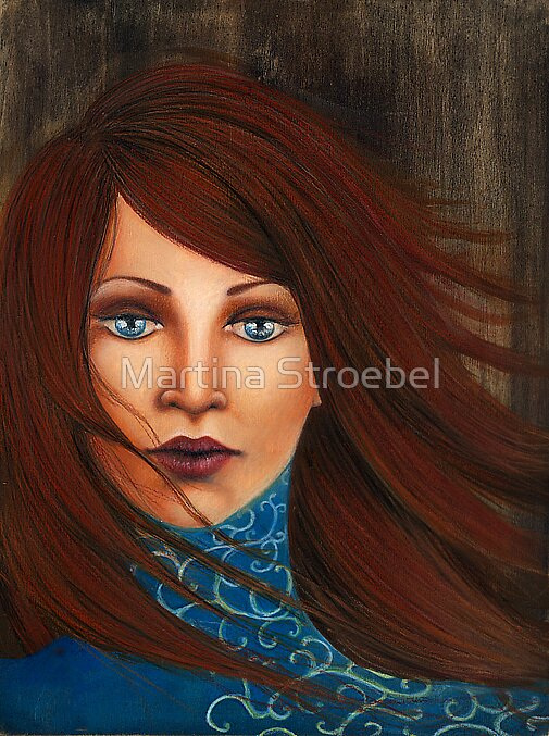 ....Work in progress.... by Martina Stroebel