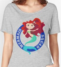 Mermaid Squad Women's Relaxed Fit T-Shirt