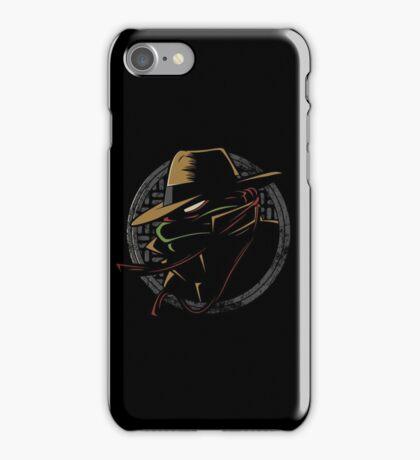 Undercover Ninja Raph iPhone Case/Skin