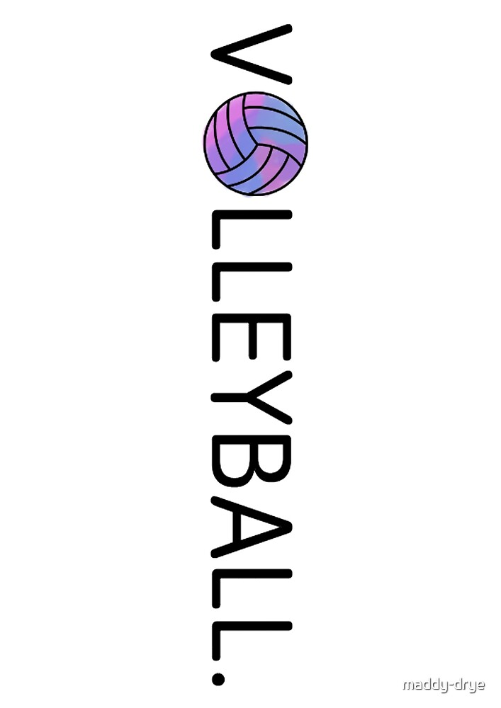 Pink and Purple Volleyball. by maddy-drye